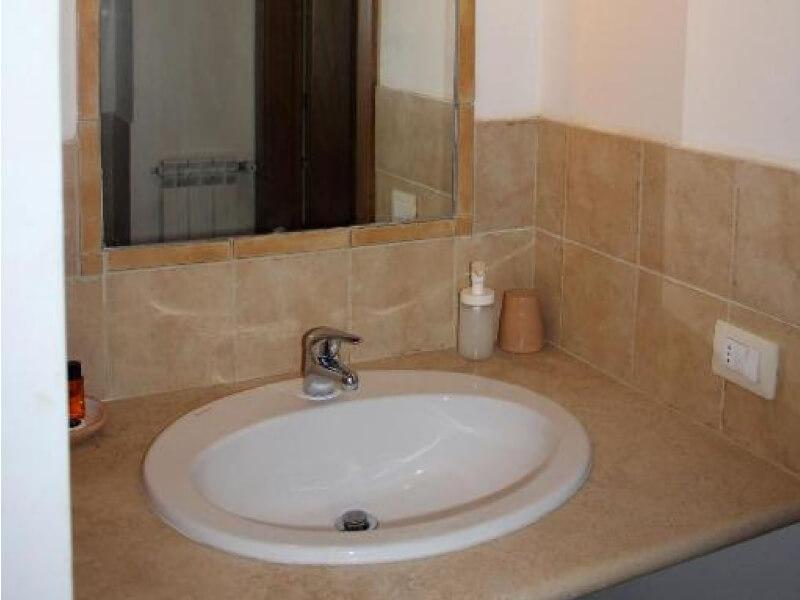 Dormire in Umbria bagno camera deluxe