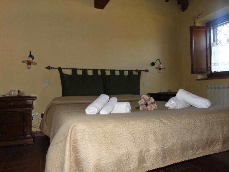 Dormire in Umbria camera junior suite
