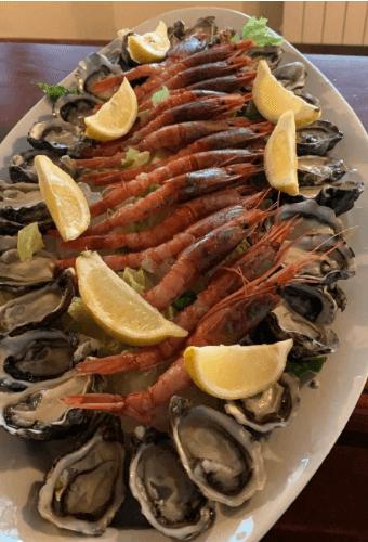 crudi di pesce ristorante amelia Il Podere San Giuseppe