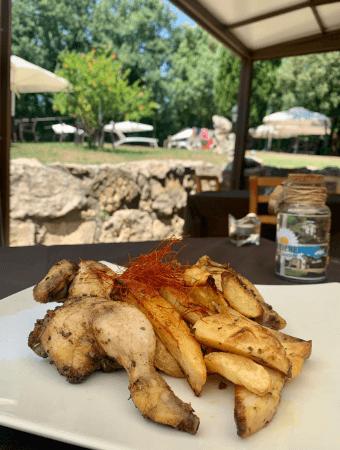 galletto alla diavola ristorante amelia Il Podere San Giuseppe