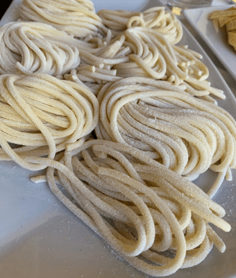 pasta fresca ristorante amelia Il Podere San Giuseppe