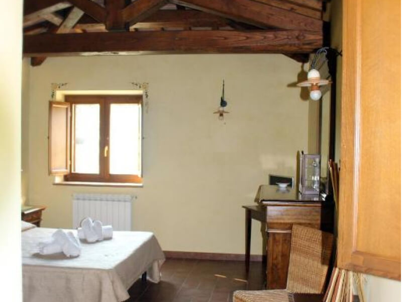 Dormire in Umbria visuale junior suite