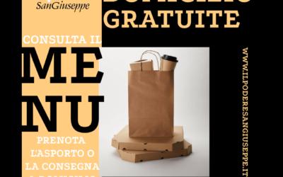 """Consegne a domicilio """"GRATUITE"""""""