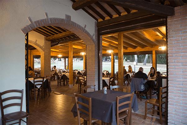 """Il ristorante """"La Locanda"""""""