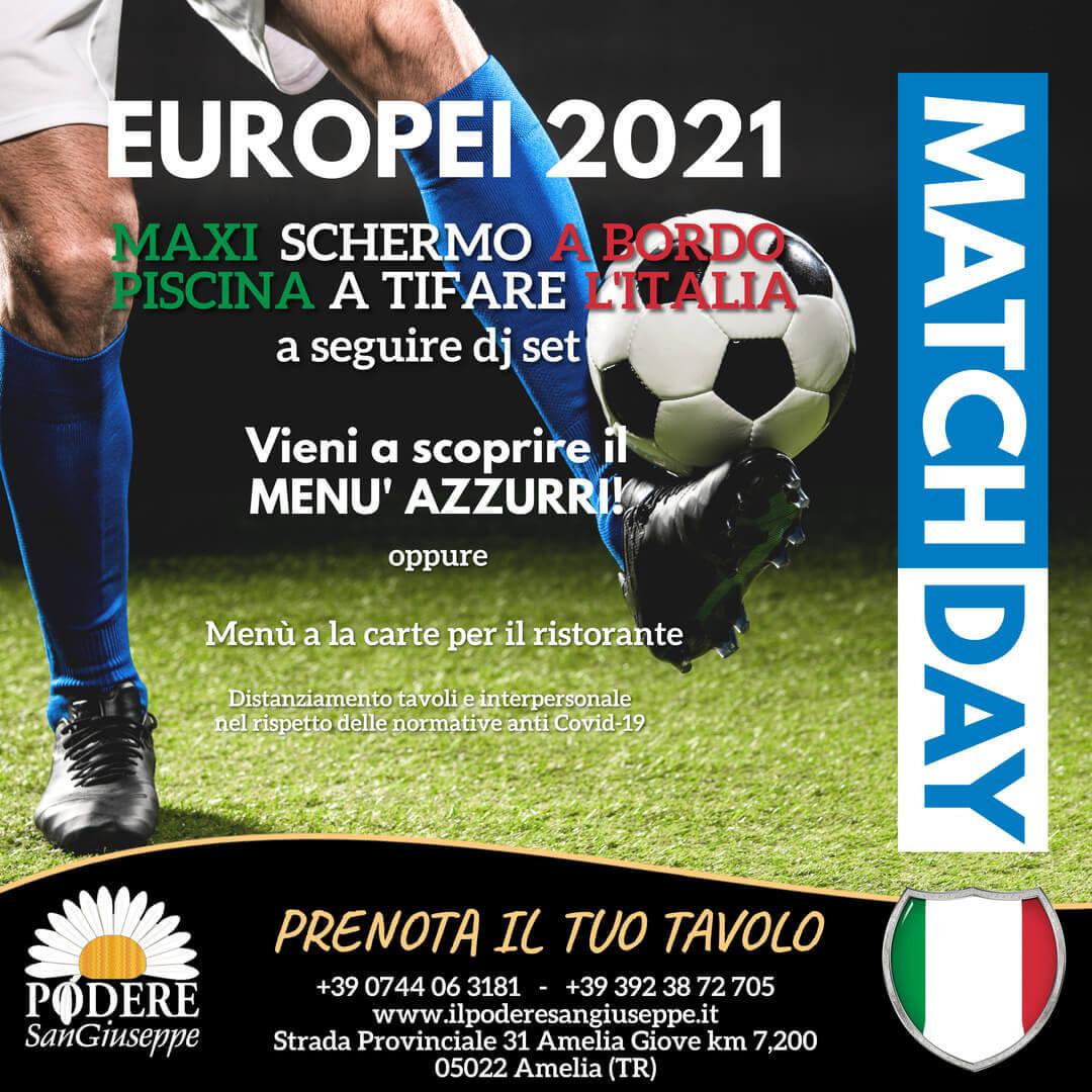 Europei di calcio 2021 ilpoderesangiuseppe.it